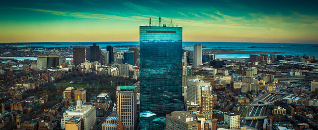 Boston skyline. Credit: Jason Corey.